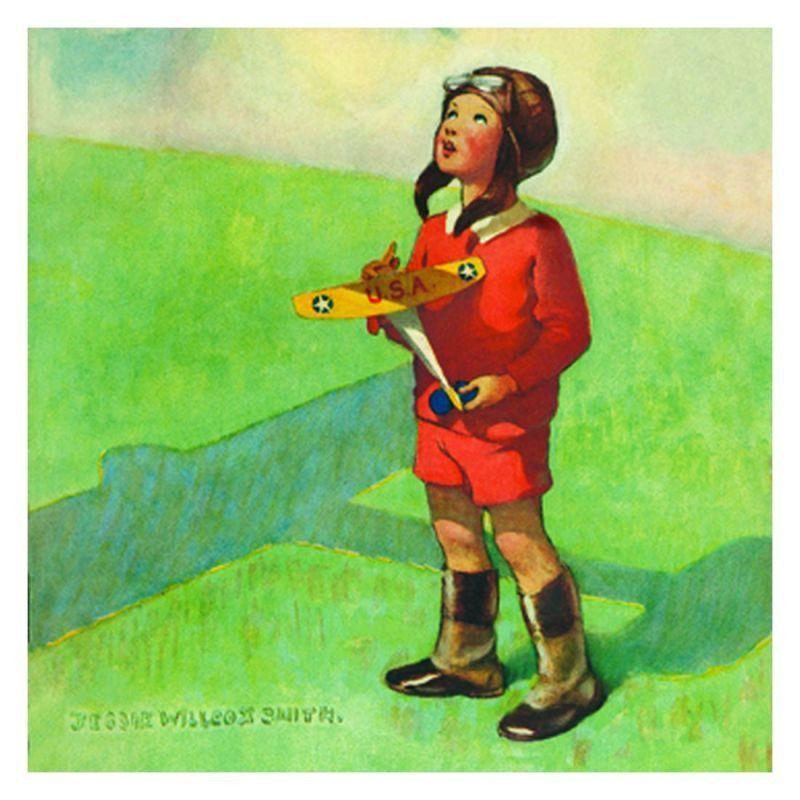 Jessie Willcox Smith Greeting Cards : Boy With Toy