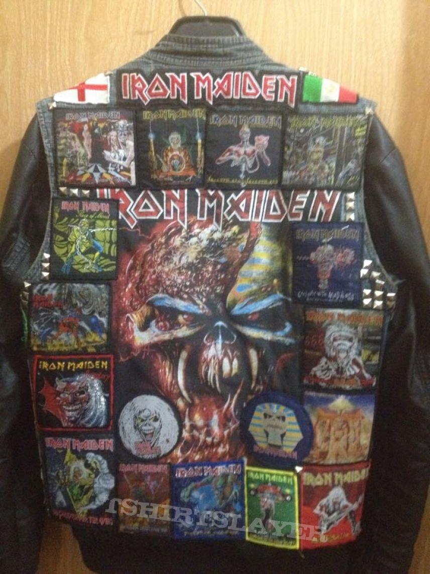 My Battle Jacket Battle Jacket Punk Jackets Metal Clothing [ 1141 x 856 Pixel ]