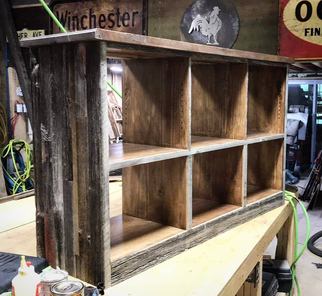TV unit we're currently working on 😊 #humblebarn # ...