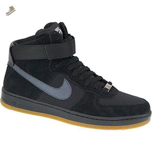 Nike W Af1 Color Ultra Force Mid 654851003 Color Af1 Negro Tamaño: e8fe96