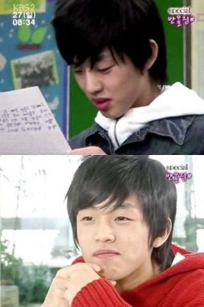 "Yoo Ah In in ""Sharp 1"" series he's just a baby here omggggg"