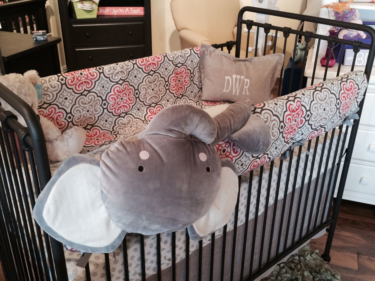 Baby cribs not made in china - Garden Gate Crib Bedding By Liz And Roo Made In Usa Http