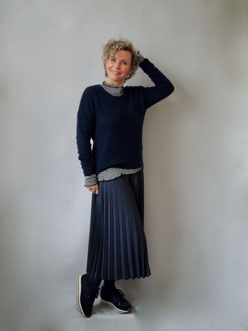 kleider für frauen ab 60 | fall outfits women, grey fashion
