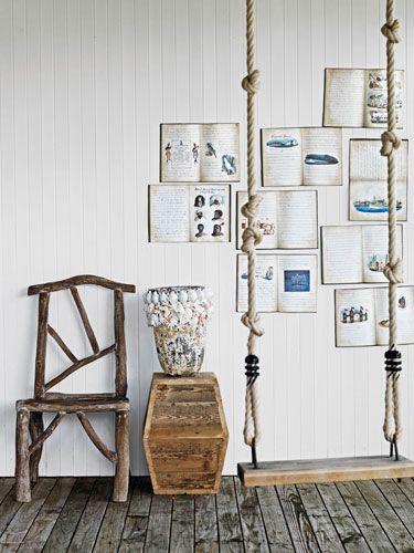 Schon Ideen Für Wandgestaltung Von Weißer Wand Mit Büchern Wanddeko Selber  Machen, Buch Gestalten, Wandgestaltung