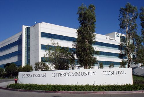 Presbyterian Hospital Shannon Tower In Whittier California This