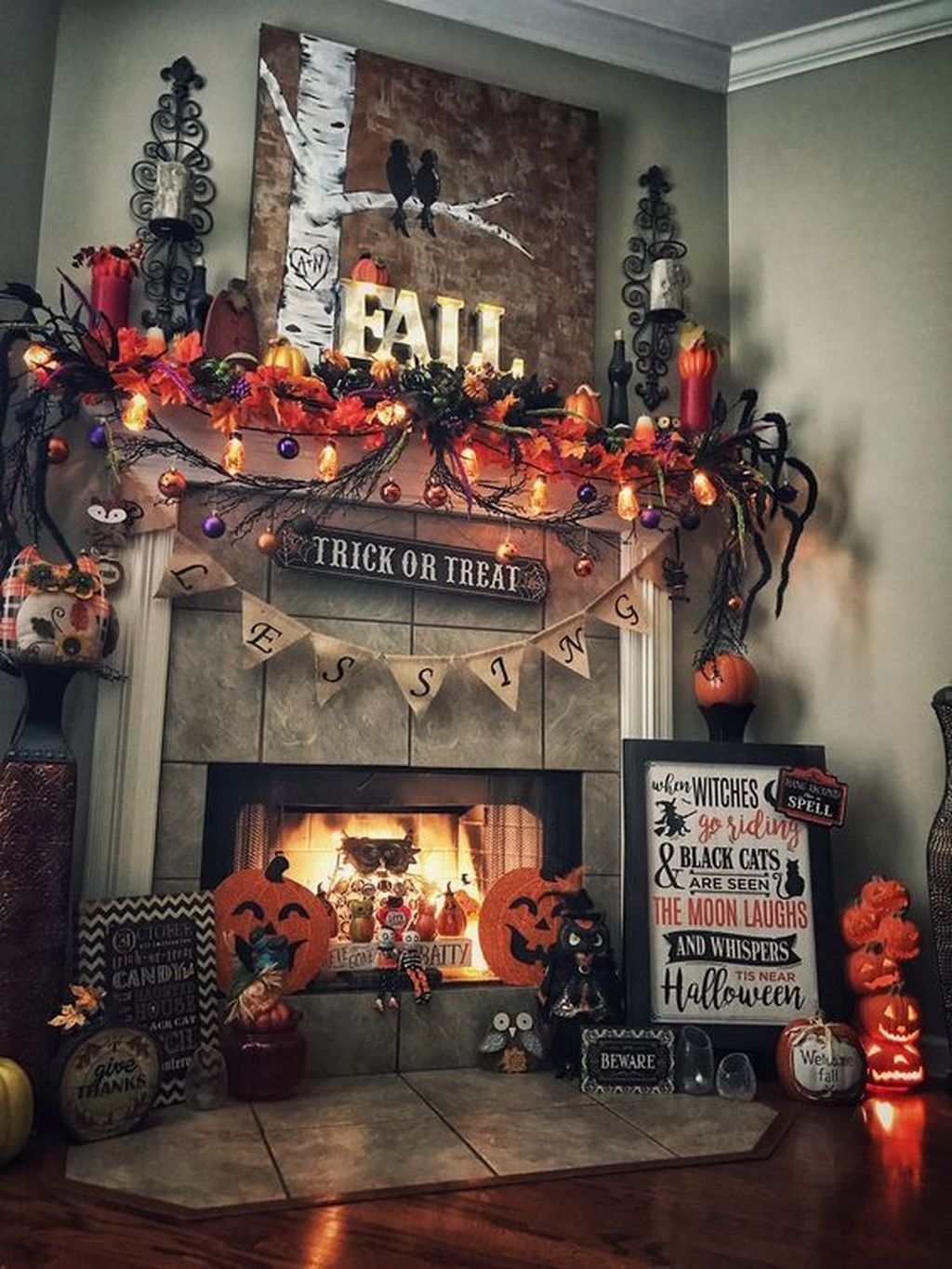 Cool 20+ Spooky Home Decoration Ideas To Celebrate