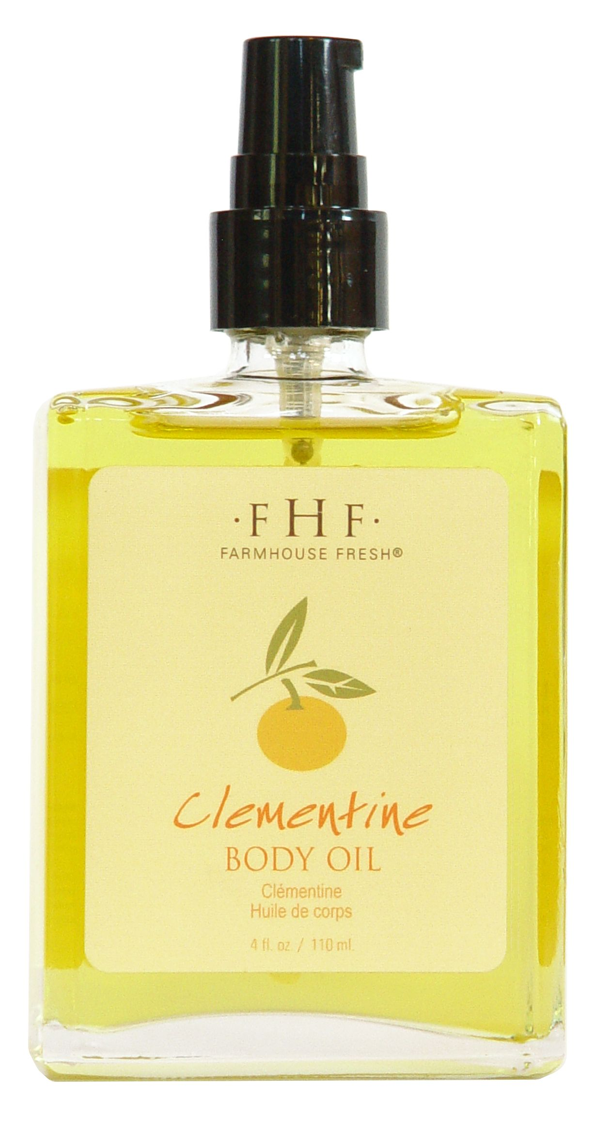 Clementine Body Oil made with antioxidant and vitaminrich