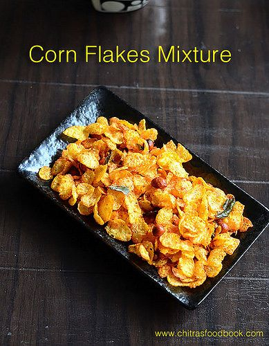Cornflakes mixture recipe pinterest corn flakes flakes and snacks cornflakes mixture without oil kellogs easy corn flake mixture with step by step recipe forumfinder Image collections