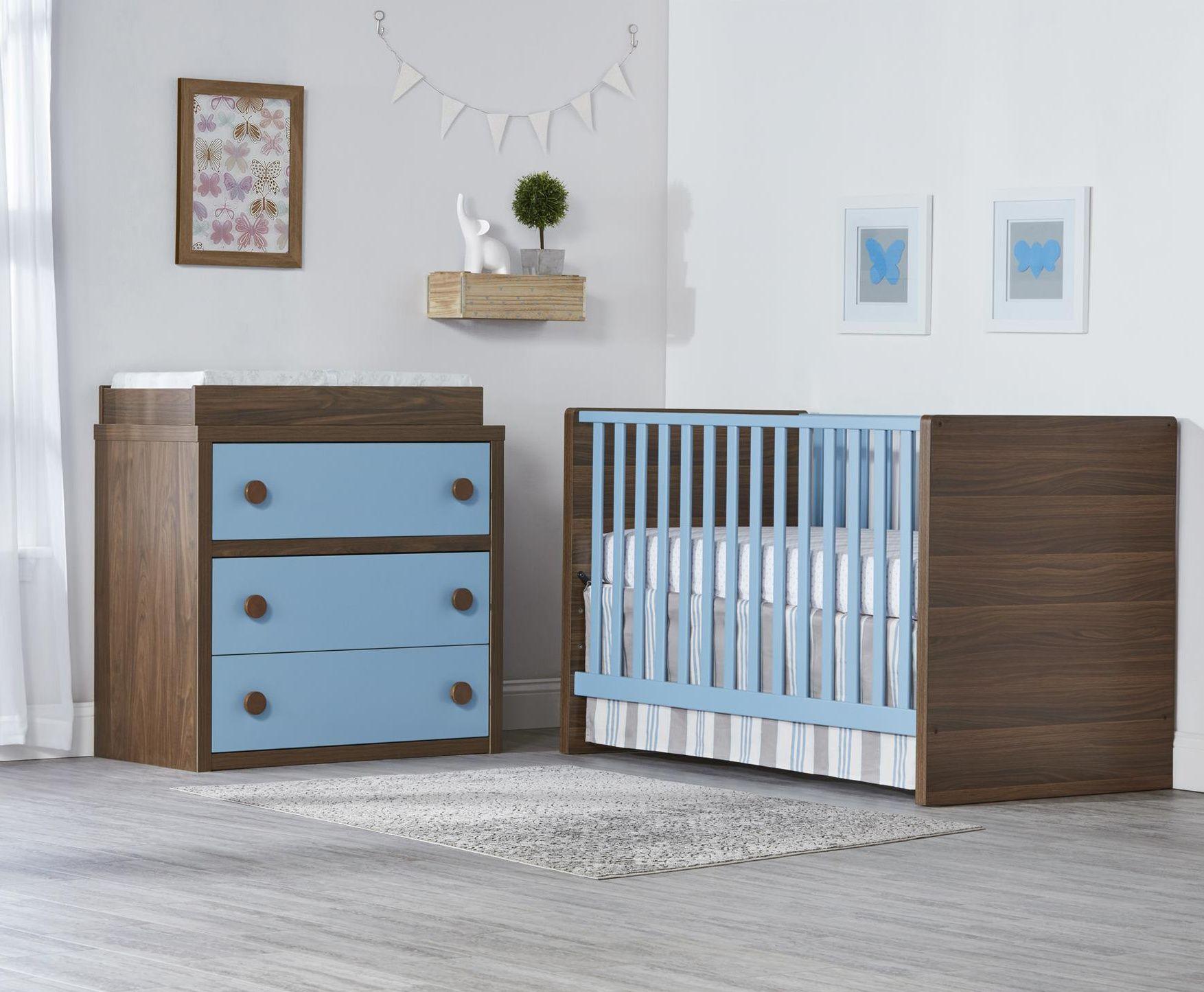 Choose the sierra ridge nursery collection for a modern