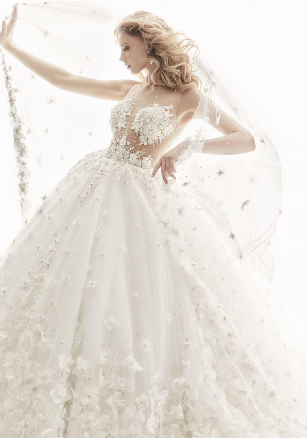 Randy Fenoli Brandi Wedding Dress New, Size 4, 2,900
