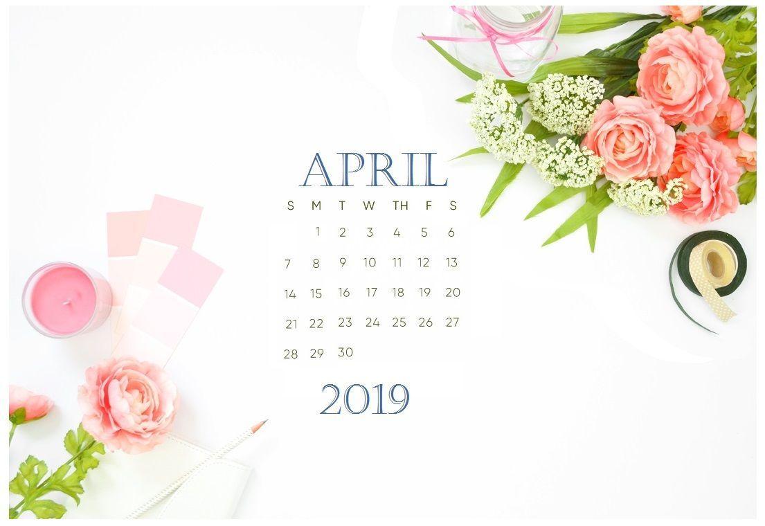 April 2019 Calendar Wallpaper With Images