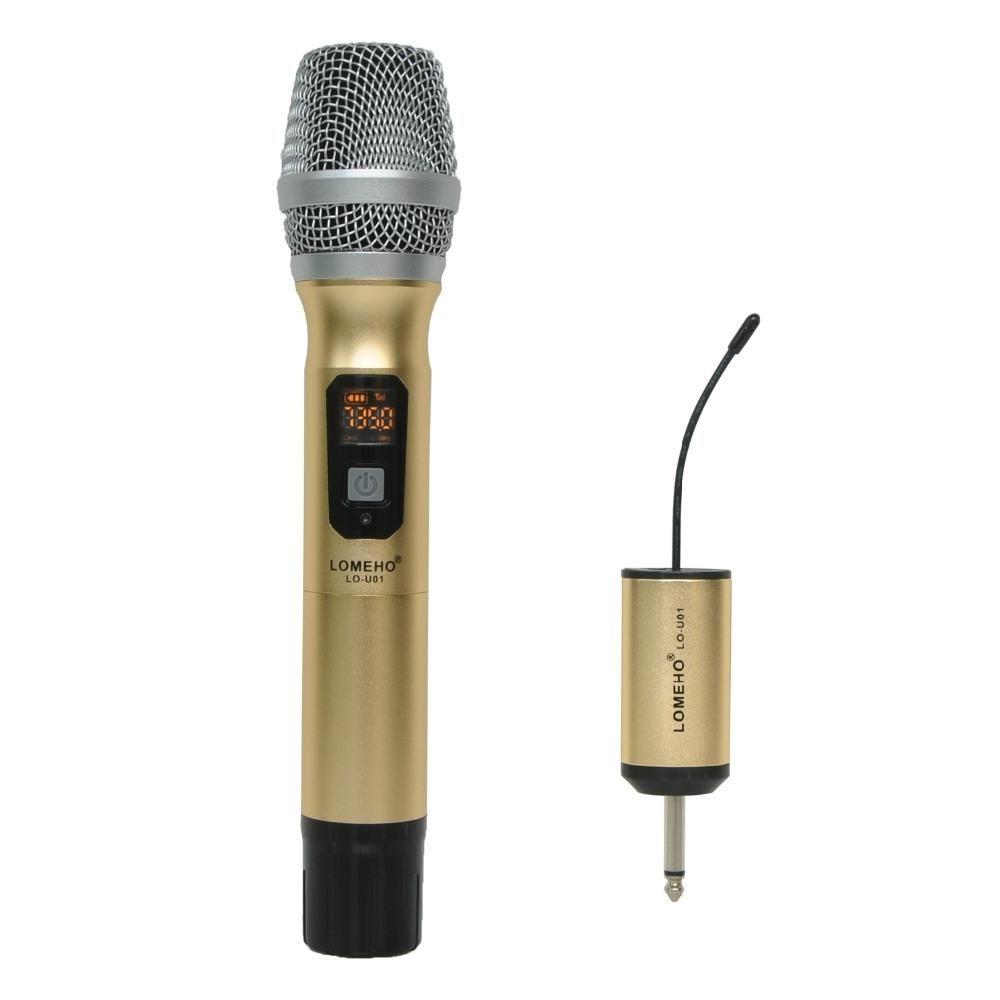 1 Way Metal Handheld Transmitter Wireless Microphone Outdoor Mic Portable Camera Party Karaoke Yesterdays Price Us 2999