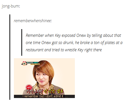 Lol I Can See Onew Drunk Telling The Male Waitress To Go