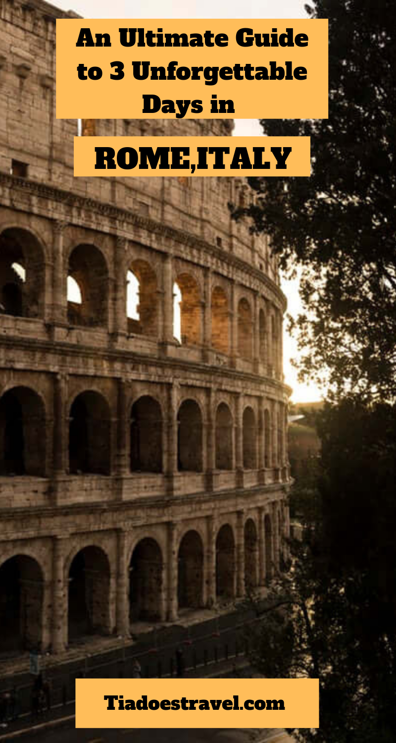 An Ultimate Guide to 20 Unforgettable Days in Breathtaking Rome ...