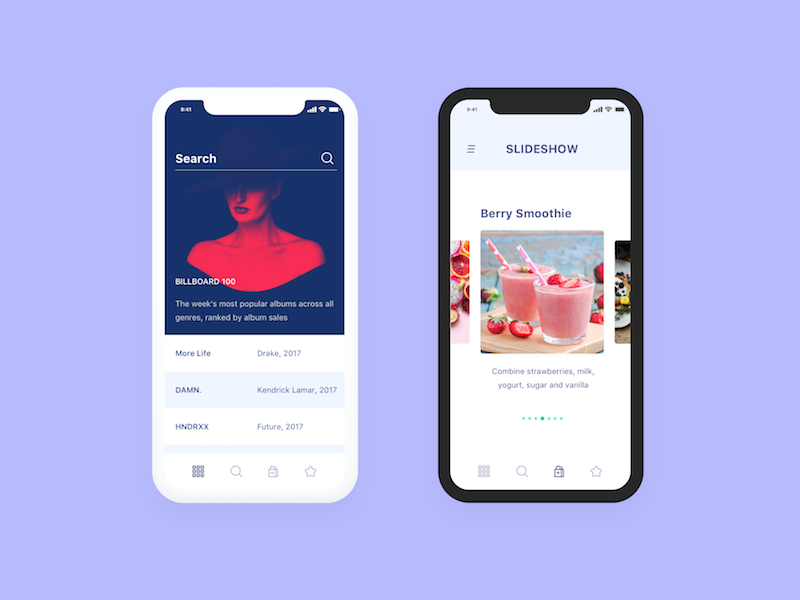 2ed6d2bba2b iPhone X Shop app | free file / freebie | App, App design, Ui kit