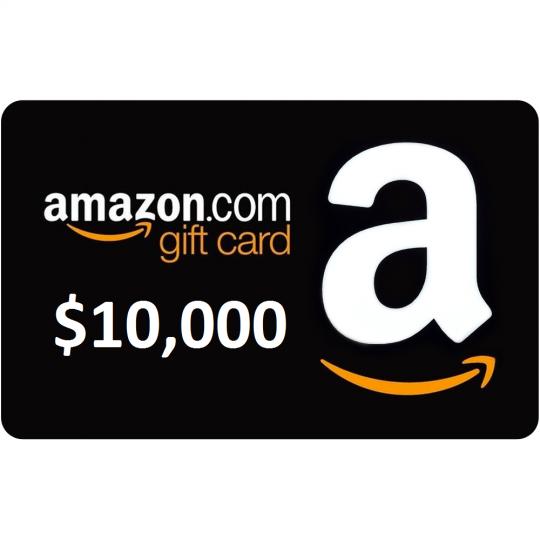 Win A 10000 Amazon Gift Card