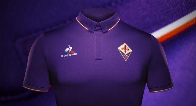 a0a05fc451 Camisas da ACF Fiorentina 2016-2017 Le Coq Sportif | Uniformes ...