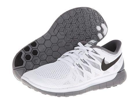 d13b38e91dae Nike Nike Free 5.0  14 White Black Wolf Grey - Zappos.com Free Shipping  BOTH Ways More