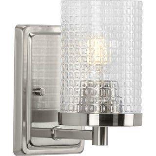 Photo of Fawcett Collection Brushed Nickel One-Light Bath (100 W – 1 Light), Progress Lighting