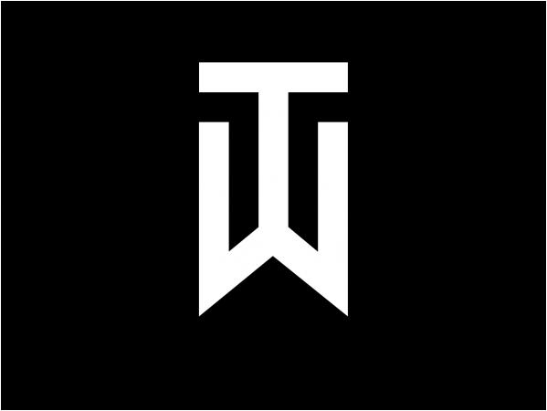tiger woods logo athlete logos pinterest tiger woods wood rh pinterest com nike athlete logos KD Nike Basketball Logos