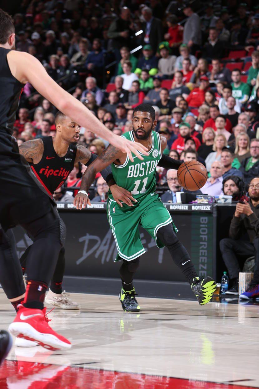 111118 Trail Blazers Boston Celtics Basketball Players Nba