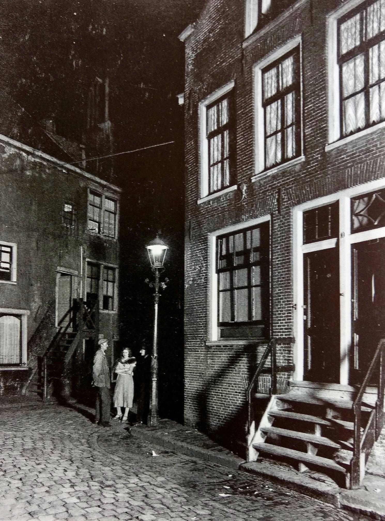 1933 Driehoekstraat In De Jordaan De Driehoekstraat Werd Aangelegd