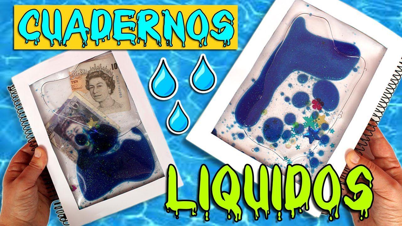 Cuadernos LIQUIDOS DIY * Personaliza tus LIBRETAS