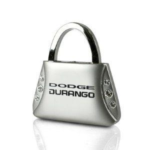 Dodge Durango Clear Crystal Purse Shape Auto Key Chain