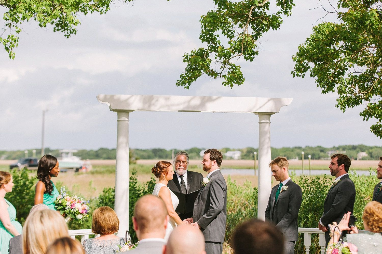 Jessica Andrew A Goldbug Island Wedding In Charleston Sc