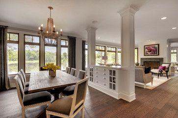 Lakeside Living Transitional Dining Room Home Decor Design