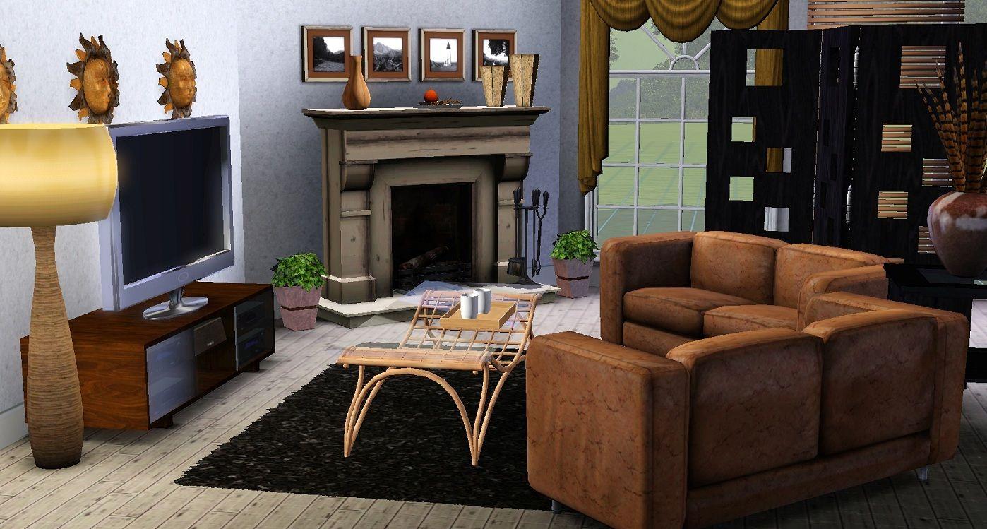 Livingroom | Decor, Room decor, Sims 3 rooms
