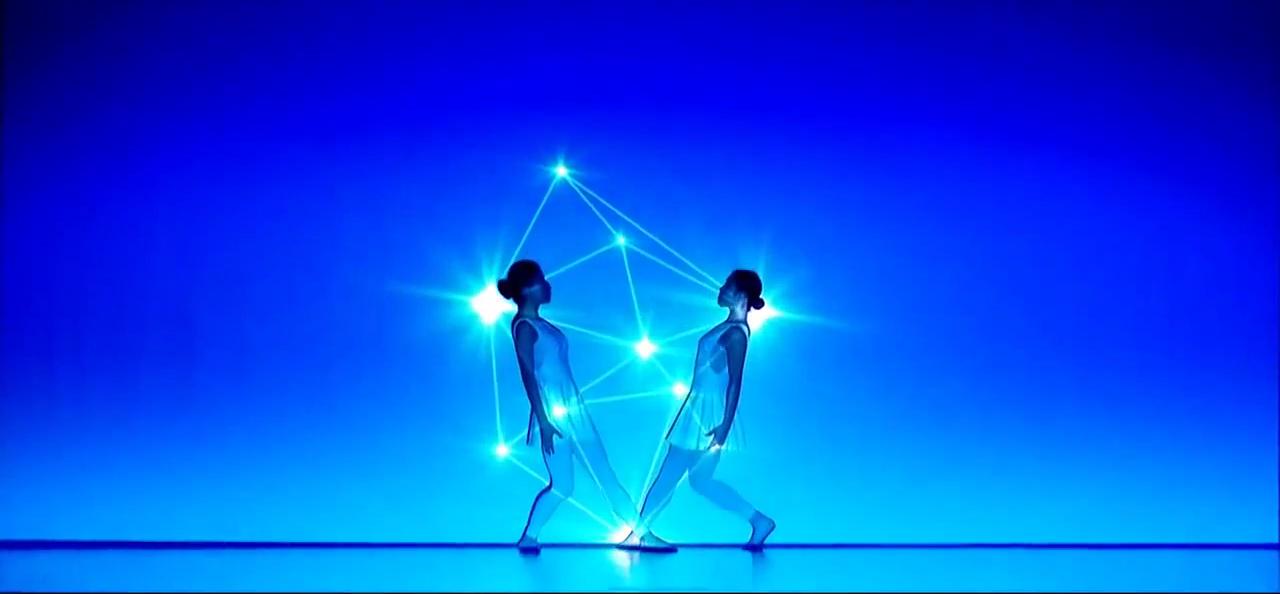 Ballet japonés interpretando Pléyades.