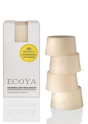 Ecoya Lemongrass & Ginger Soy Wax Melts