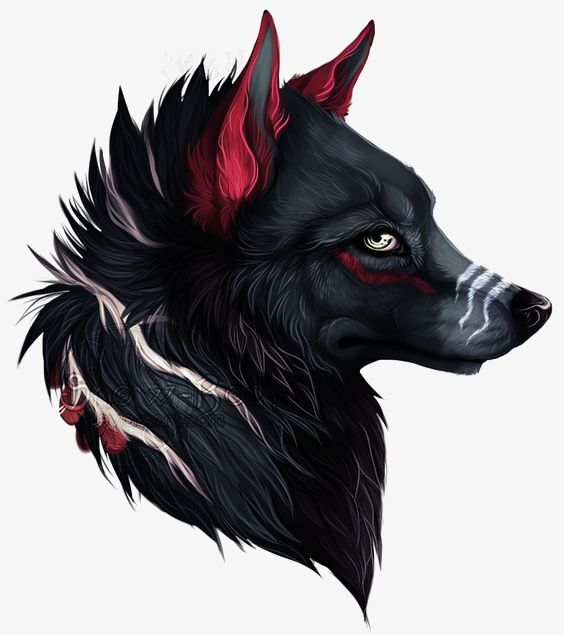 Black Wolf Avatar Wolf Clipart Creative Animal Heads Wild Animals Png Transparent Clipart Image And Psd File For Free Download Animals Anime Wolf Furry Art