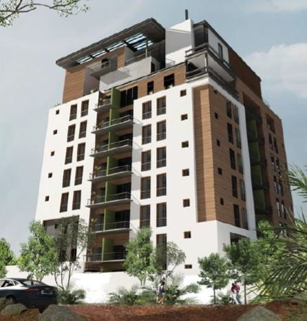Edificios de apartamentos modernos edificios modernos for Fachadas de edificios modernos
