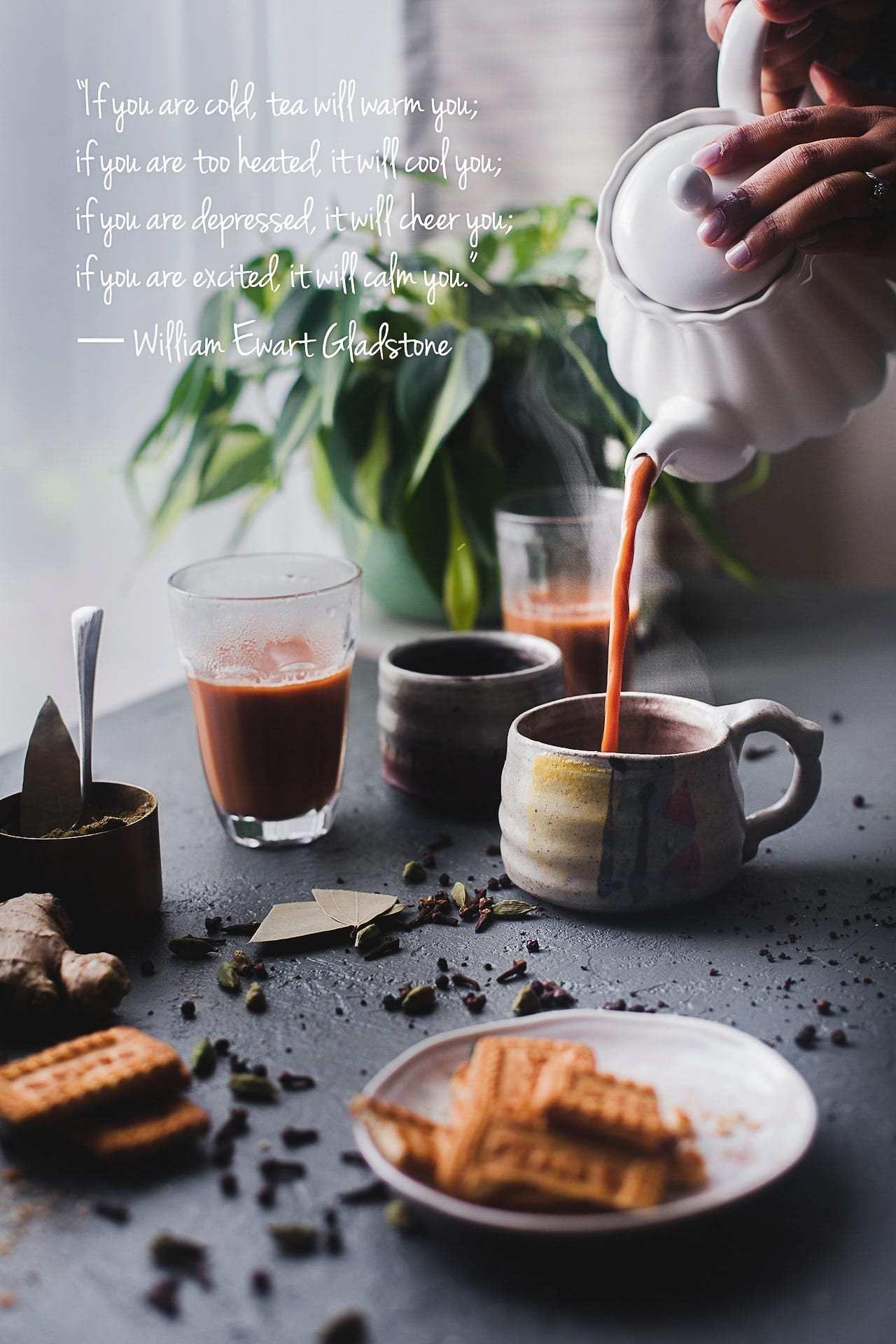Indian Masala Chai (Spiced Milk Tea) Recipe in 2020