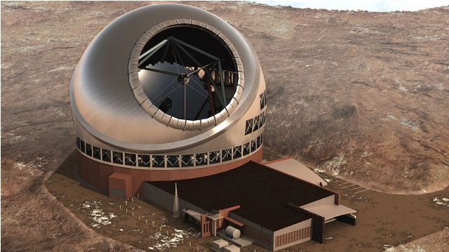 Hawaii Approves Construction Of Worlds Largest Optical Telescope - Last Friday, Hawaiian Board of Land and Natural Resources approved the construction of the worlds largest optical telescope, called the Thirty Meter Telescope (TMT). [Click on Image Or Source on Top to See Full News]