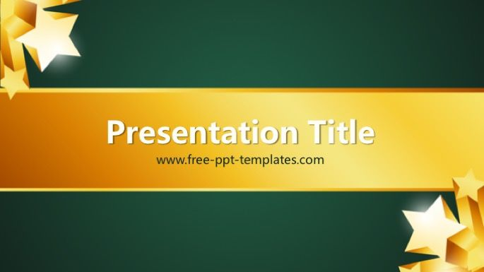 Award Powerpoint Template General Powerpoint Templates Pinterest