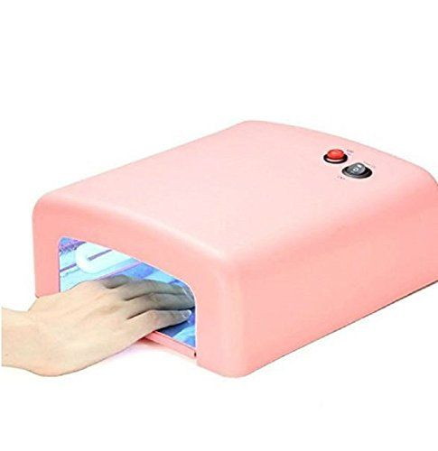 Xichenprofessional 36 Watt Uv Beauty Salon Nail Dryer Pink White Pink To View Further For This Item Visit The Image Link N Nail Dryer Led Nail Lamp Uv Lamp