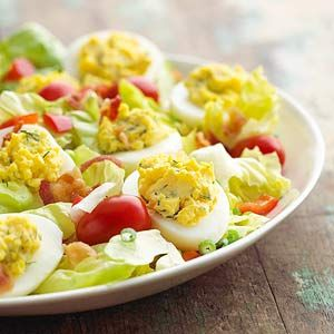 Deviled egg salad recipes pinterest deviled egg salad egg deviled egg salad forumfinder Image collections