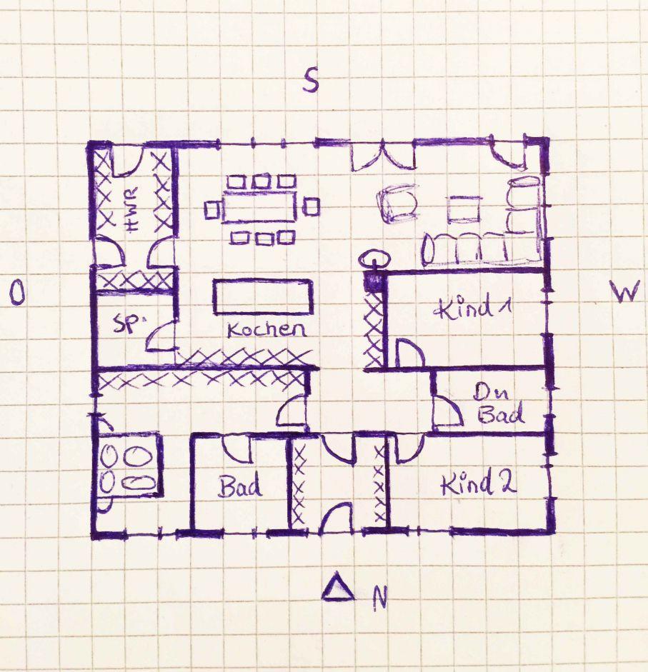 Innenarchitektur:Tolles Bungalow Grundriss Planung Katis Grundrisse ...