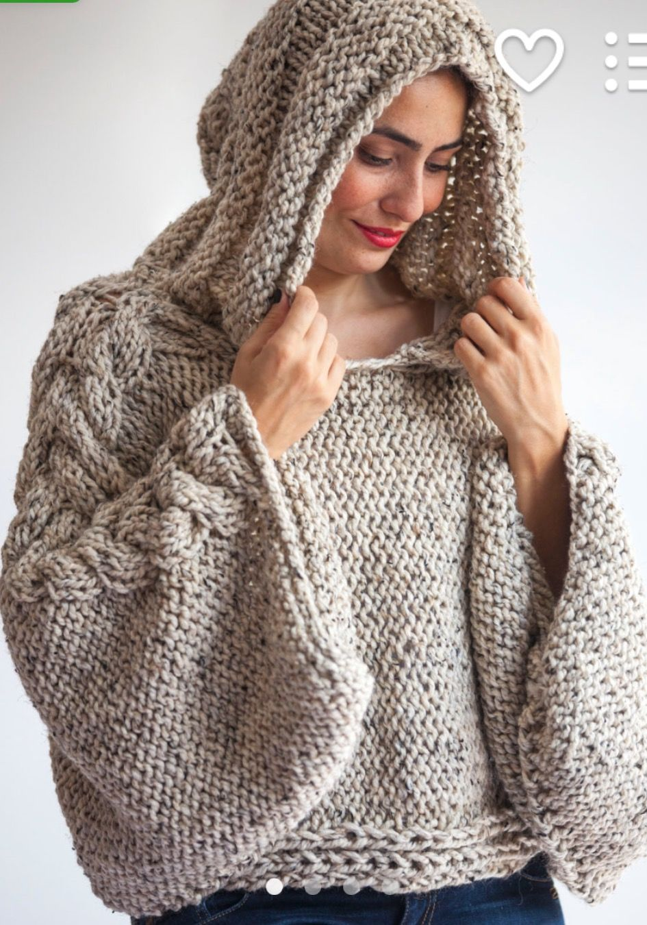 Pin by monica virag on love my hoodies sweaters pinterest tweed beige angel sweater capalet with hoodie over size plus size tweed beige cable knit by afra bankloansurffo Gallery