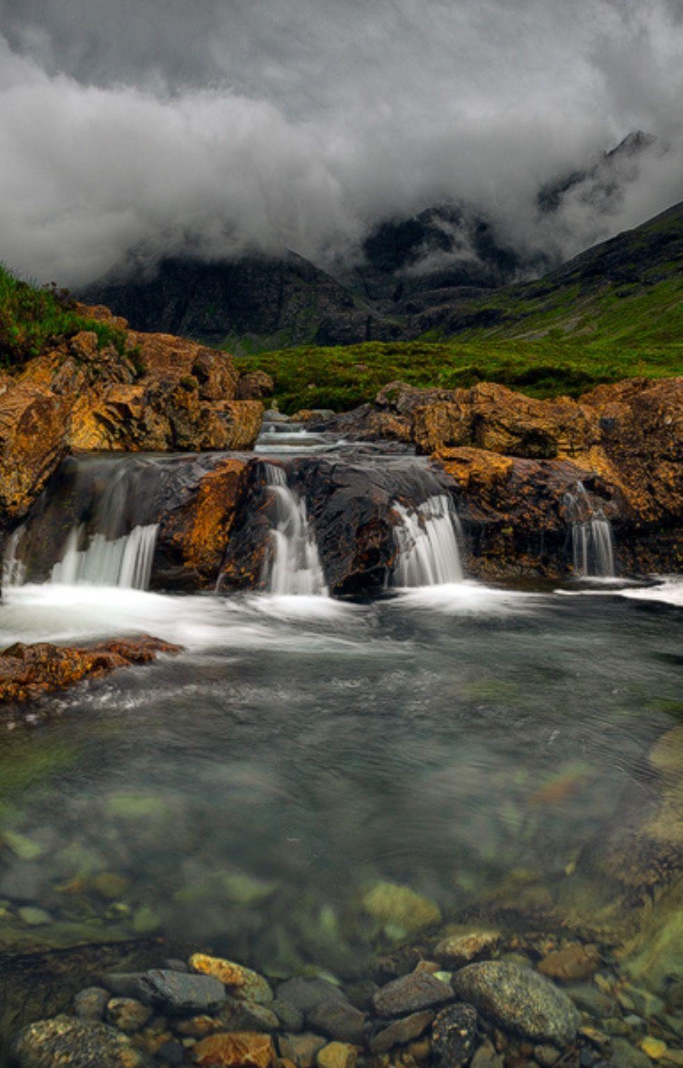 Glen Brittles by donald Goldney / 500px (Isle of Skye, Scotland)