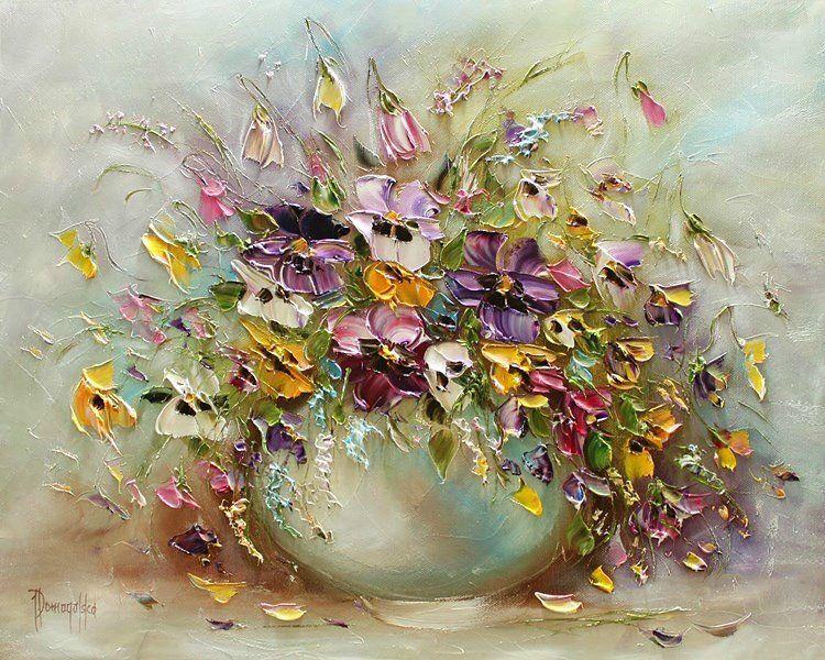 Joanna Domagalska \ Роскошь цветочного букета. Обсуждение на LiveInternet - Российский Сервис Онлайн-Дневников