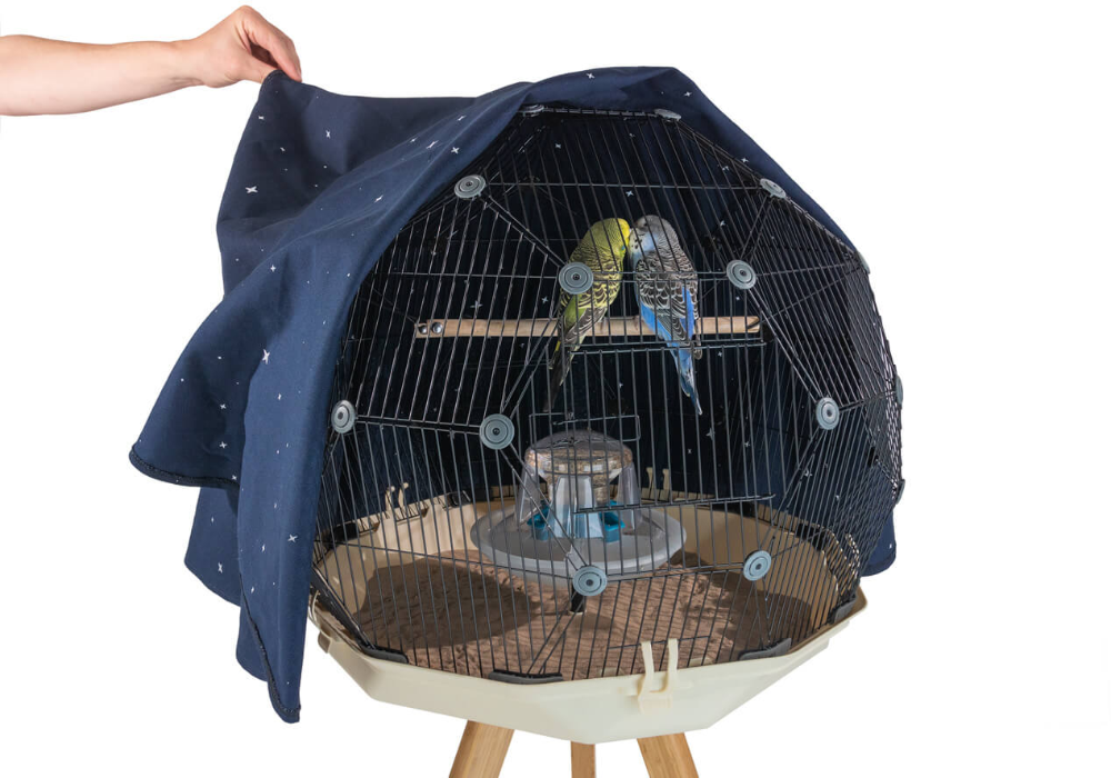 Your Birds Will Sleep Under A Blanket Of Stars With The Geo Constellation Cover Bird Cage Accessories Bird Cage Bird Cage Covers