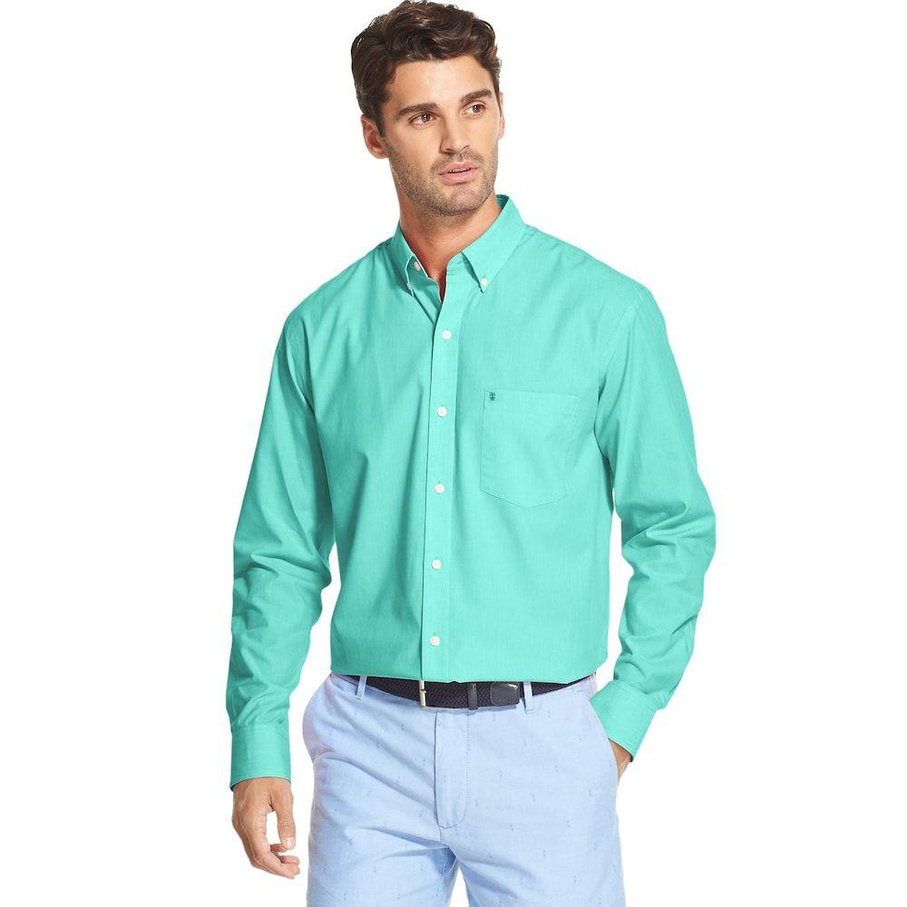 Men/'s Long Sleeve Classic Fit Premium Button Down Premium Dress Shirt