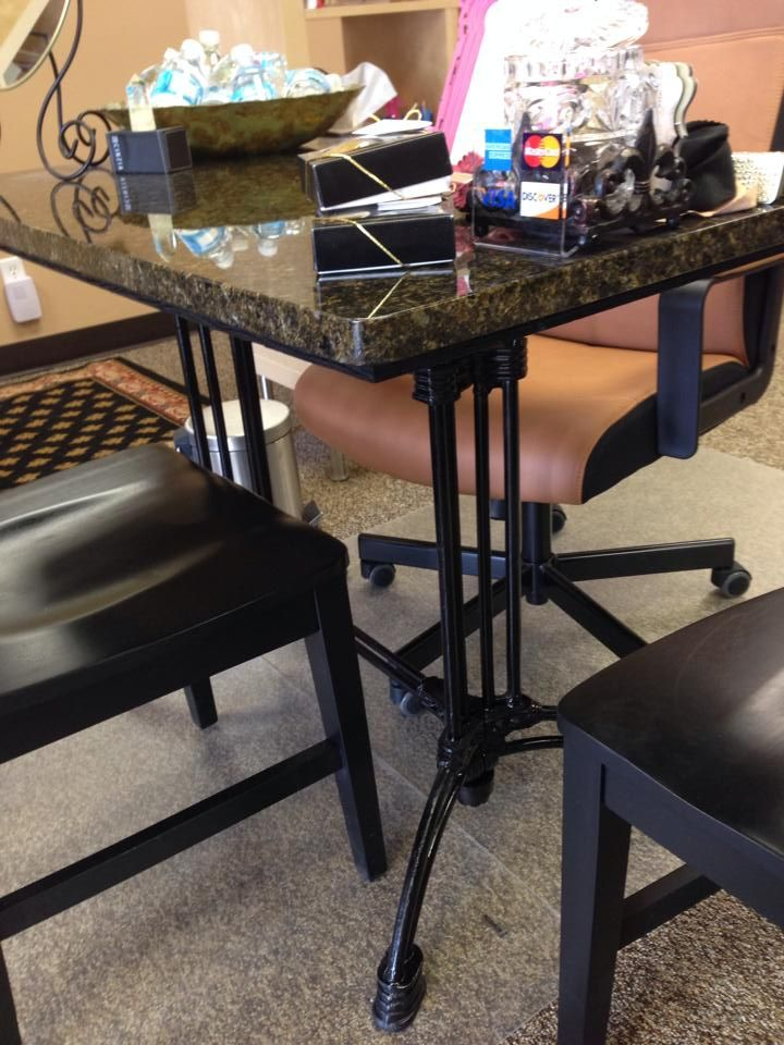 Our Bruni 2 X Used To Create A Custom Desk Click The Link For