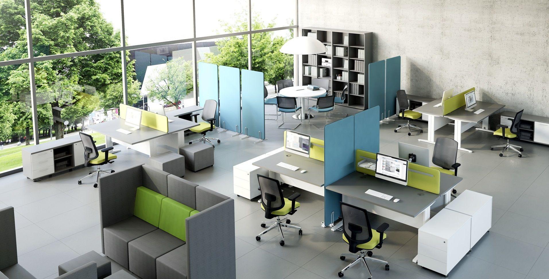 Open Floor Plan Office FurnitureFloorHome Plans Ideas Picture - Open office furniture
