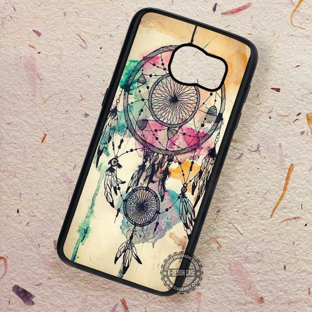 Color art dreamcatcher - Vintage Water Color Art Dream Catcher Samsung Galaxy S7 S6 S5 Note 7 Cases