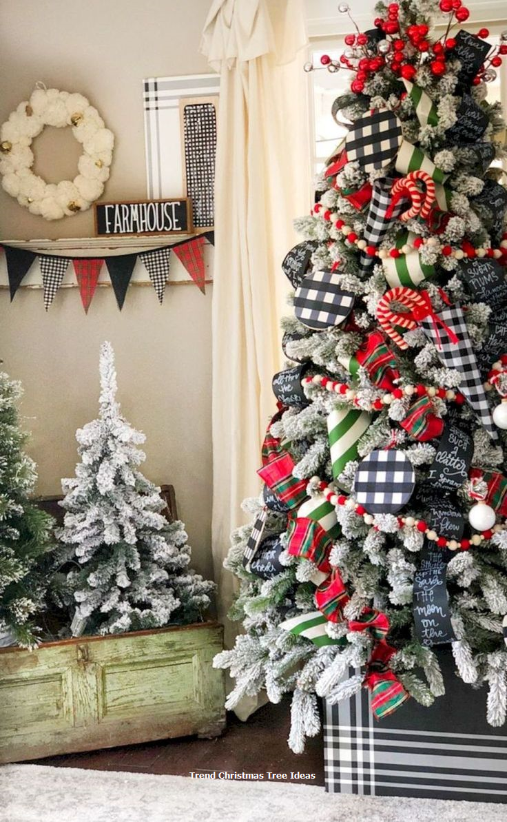 23 Christmas Tree Ideas Christmas Tree Themes Christmas Home Farmhouse Christmas Decor